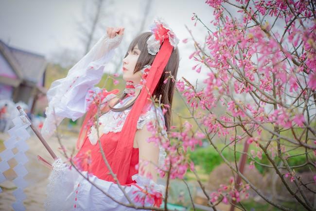 东方Project,博丽灵梦,cosplay图片,下载