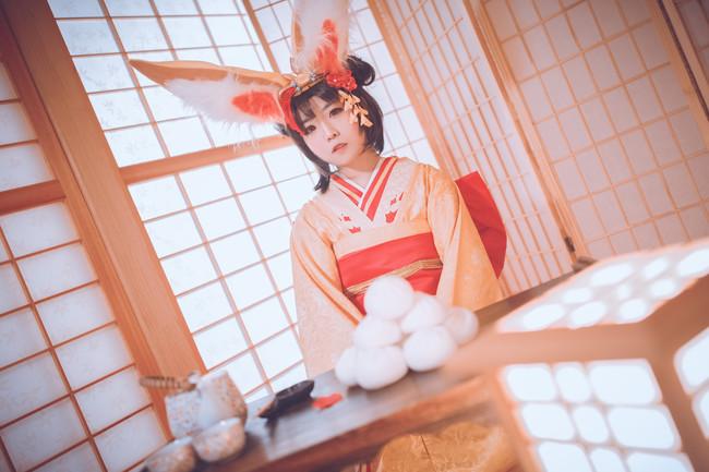 稚兔童心,cosplay图片,阴阳师山兔cos