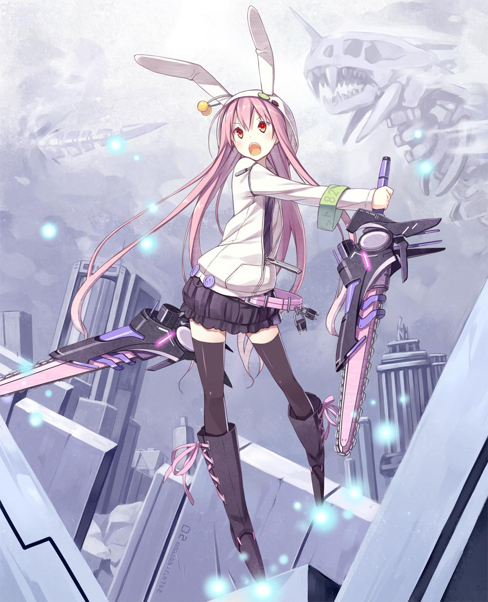 id=33900084,拔剑少女图,武器娘图,二次元手机壁纸