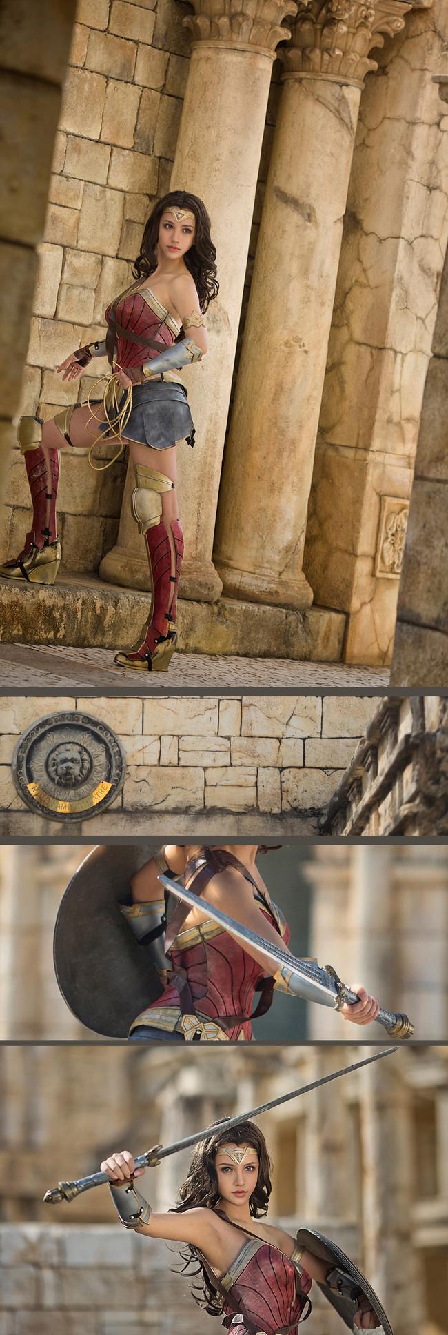神奇女侠,cosplay,kilory