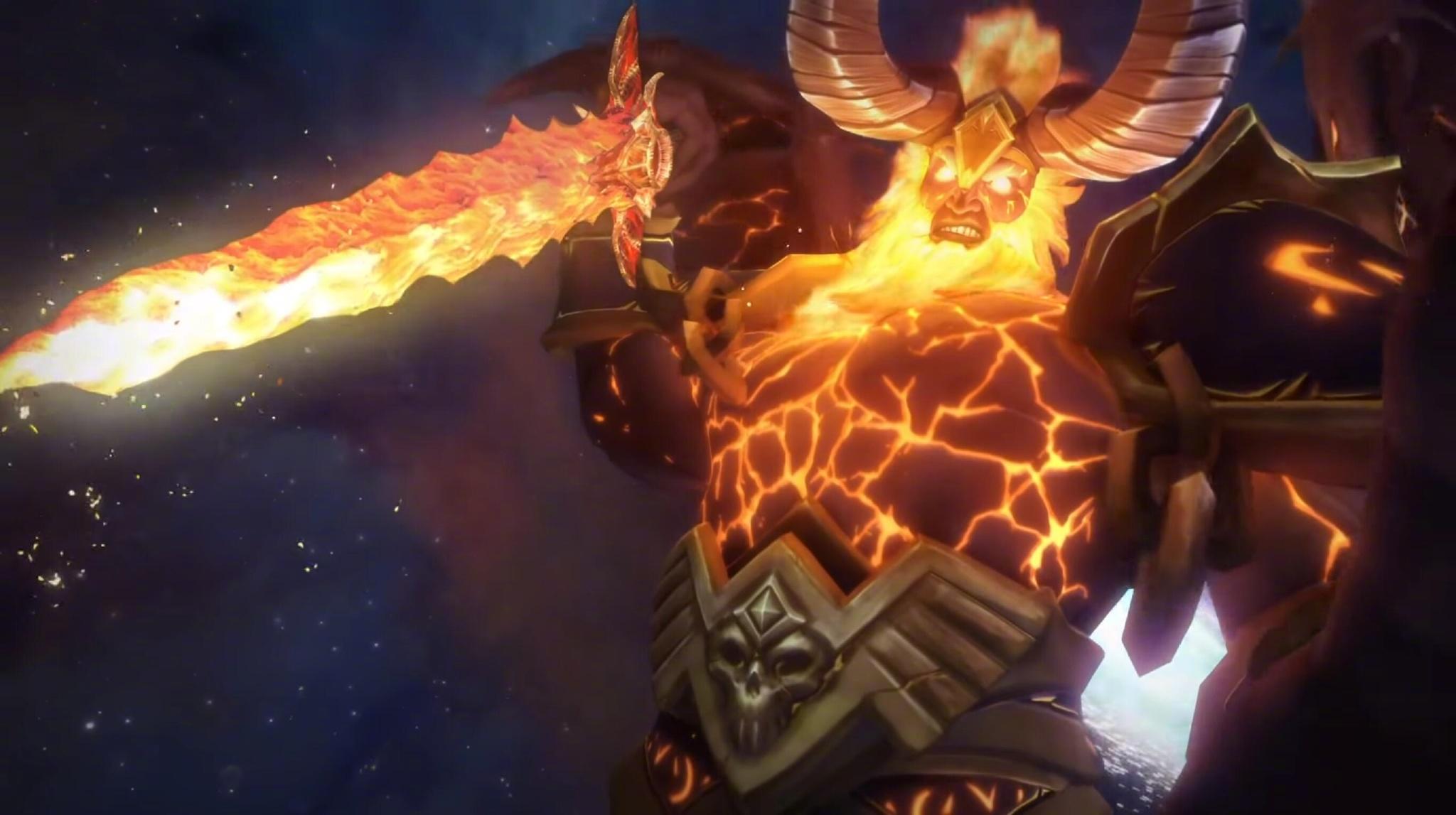 魔兽世界,燃烧王座,艾泽拉斯,大宝剑