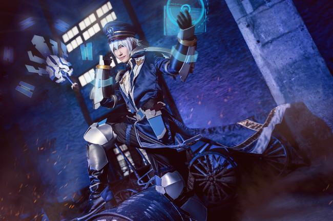 诸葛亮cos,星航指挥官,cosplay图片