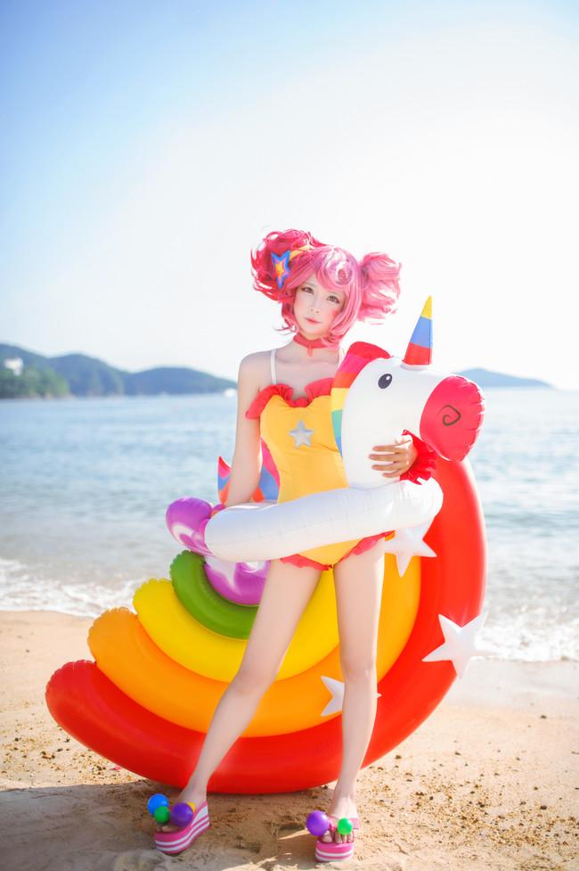 小乔cosplay,王者荣耀cosplay