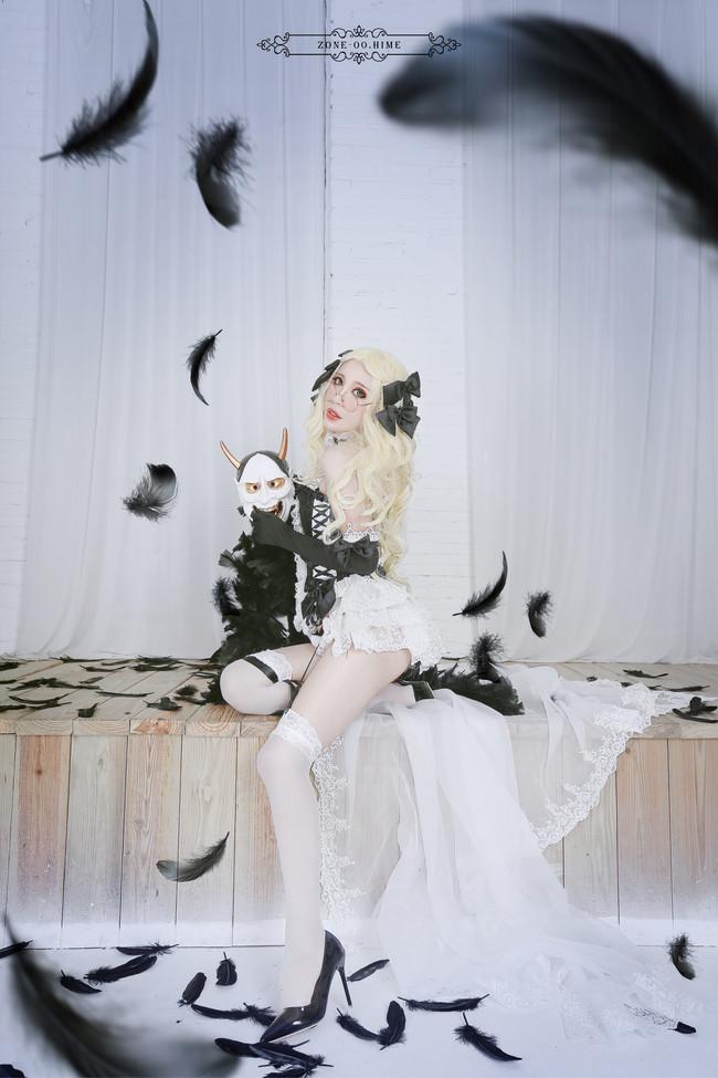 白百合姬,零之地带,HIME,cosplay图片