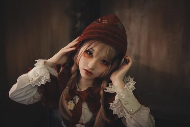 cosplay,暗黑小红帽