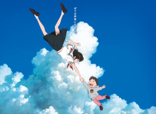 细田守新作剧场版《未来的未来》主视觉绘 2018年7月20日全