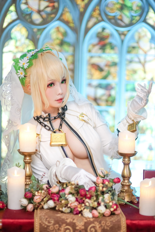 Fate/Grand Order,尼祿cosplay,ElyEE子