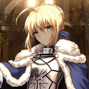 fate头像,saber头像,阿尔托莉雅头像,动漫女生头像