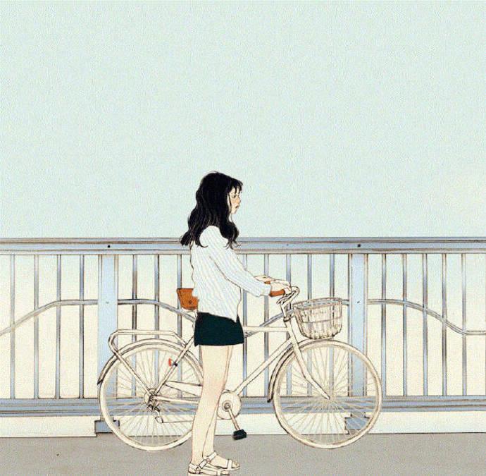 情侣头像一男一女背影,动漫头像情侣,二次元情侣头像,