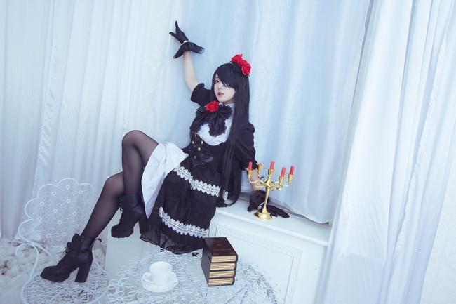 约会大作战cosplay,狂三cos, 一色_Sena