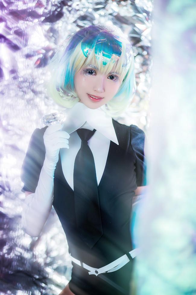 宝石之国cosplay,钻石cosplay,鳗鱼霏儿