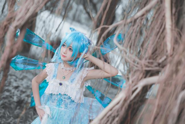 东方Project,琪露诺二设,cosplay图片