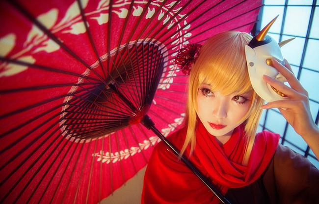 物语系列cos,物语系列写真集,cosplay图片,少女写真集