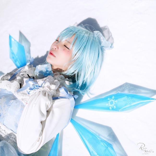 东方Project,琪露诺,cosplay图片