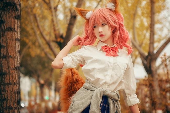 fgo,玉藻前cos,cosplay图片