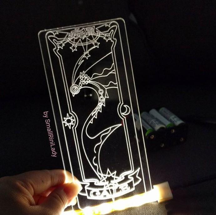 魔卡少女樱,自制透明卡片