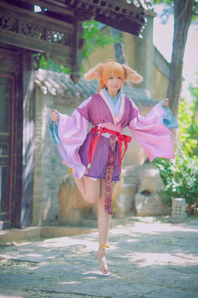 cosplay,涂山苏苏,狐妖小红娘