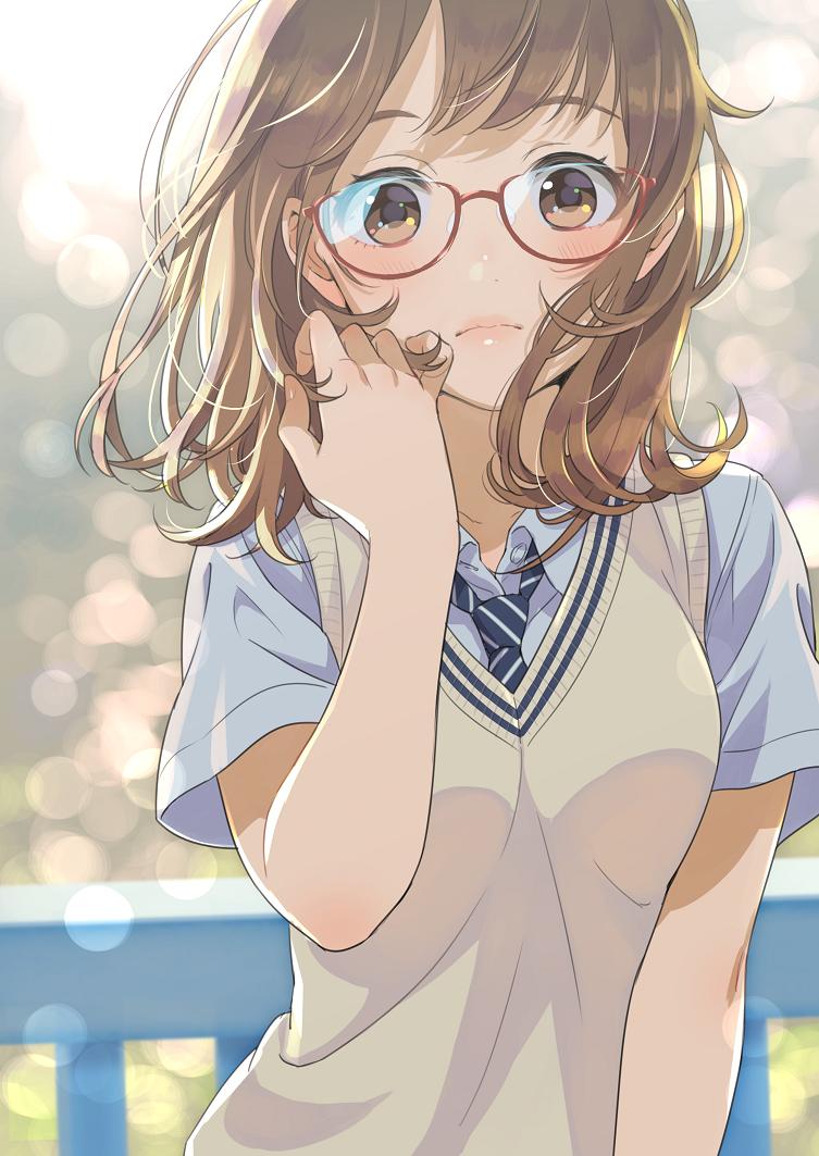 id=59247781,眼镜娘本子,动漫眼睛娘,圆框眼镜图片