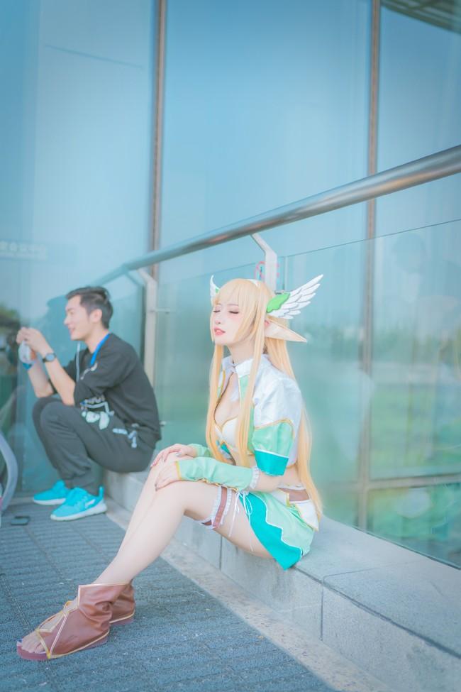 cosplay,精灵公主,艾尔薇,光明之刃