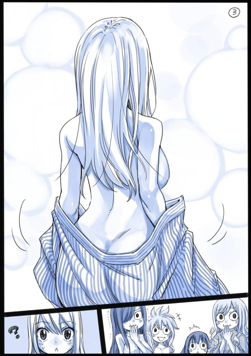 妖精的尾巴,露西全裸,妖尾露西全裸