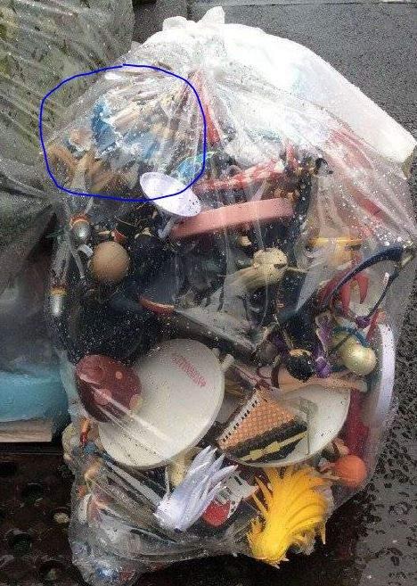 韩国网友发起《这袋垃圾倒底有多少动漫角色》竞赛 你能看出多少? - 图片2