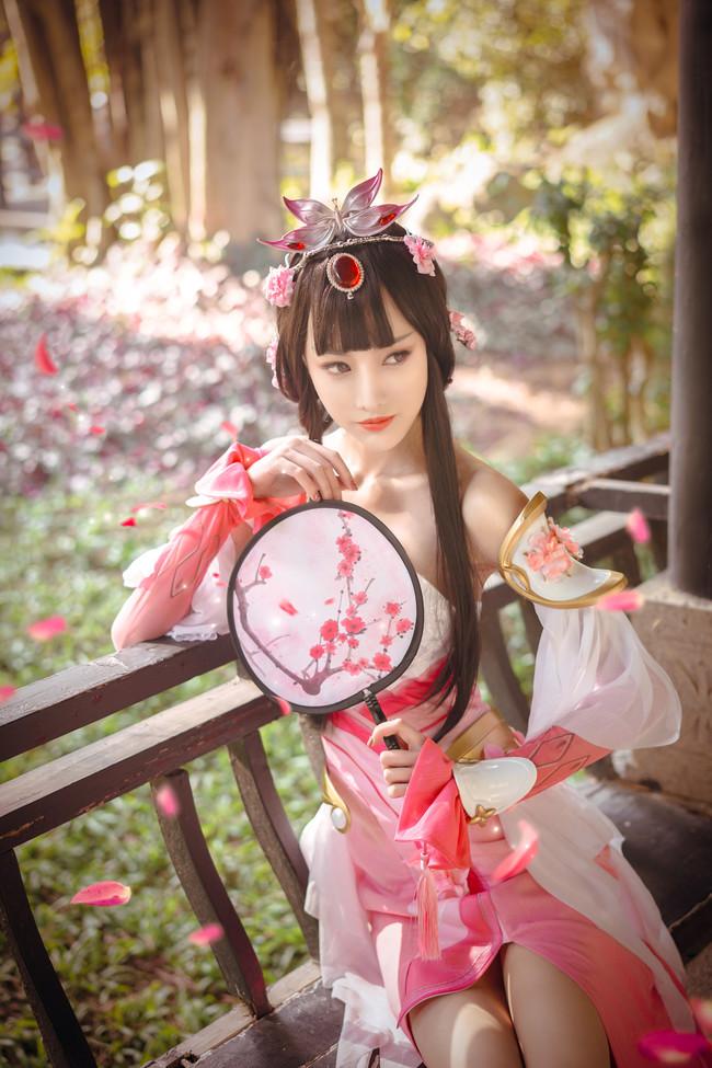 王者荣耀,甄姬,游园惊梦cos,cosplay图片