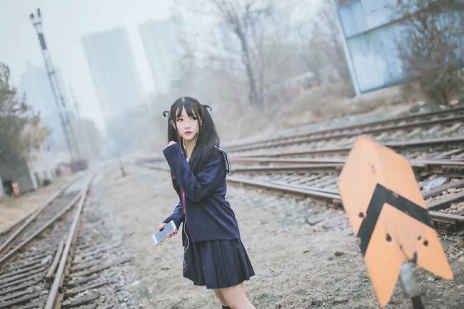 日系,JK,双马尾妹子,cosplay