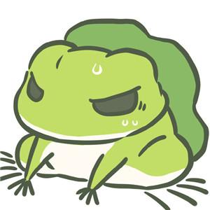 旅行青蛙,青蛙头像,绿帽子,卡通头像