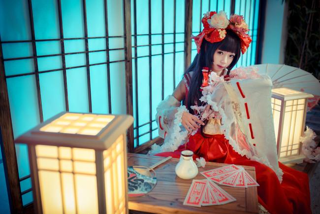 东方,博丽灵梦,cosplay