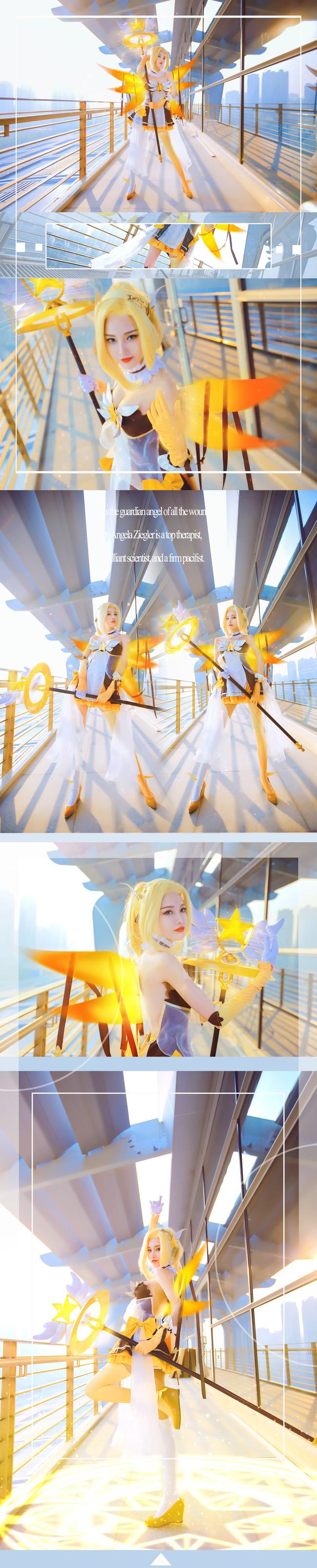 守望先锋,天使,cosplay