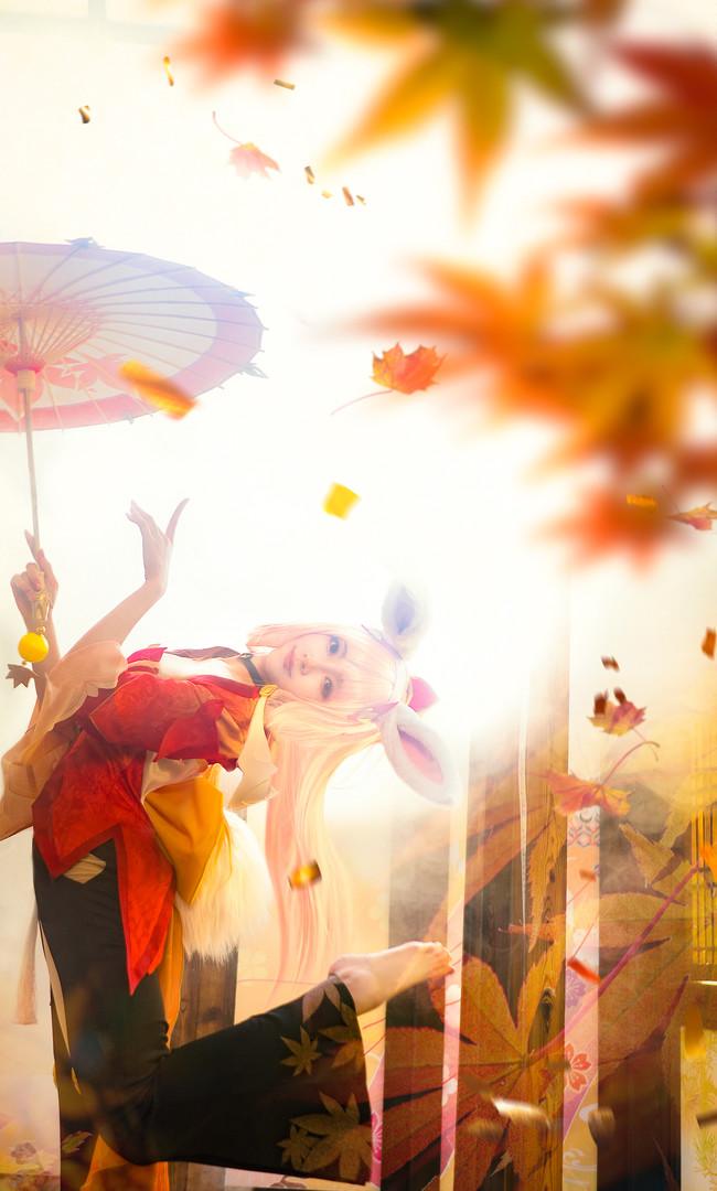 王者荣耀,公孙离,幻舞玲珑,cosplay