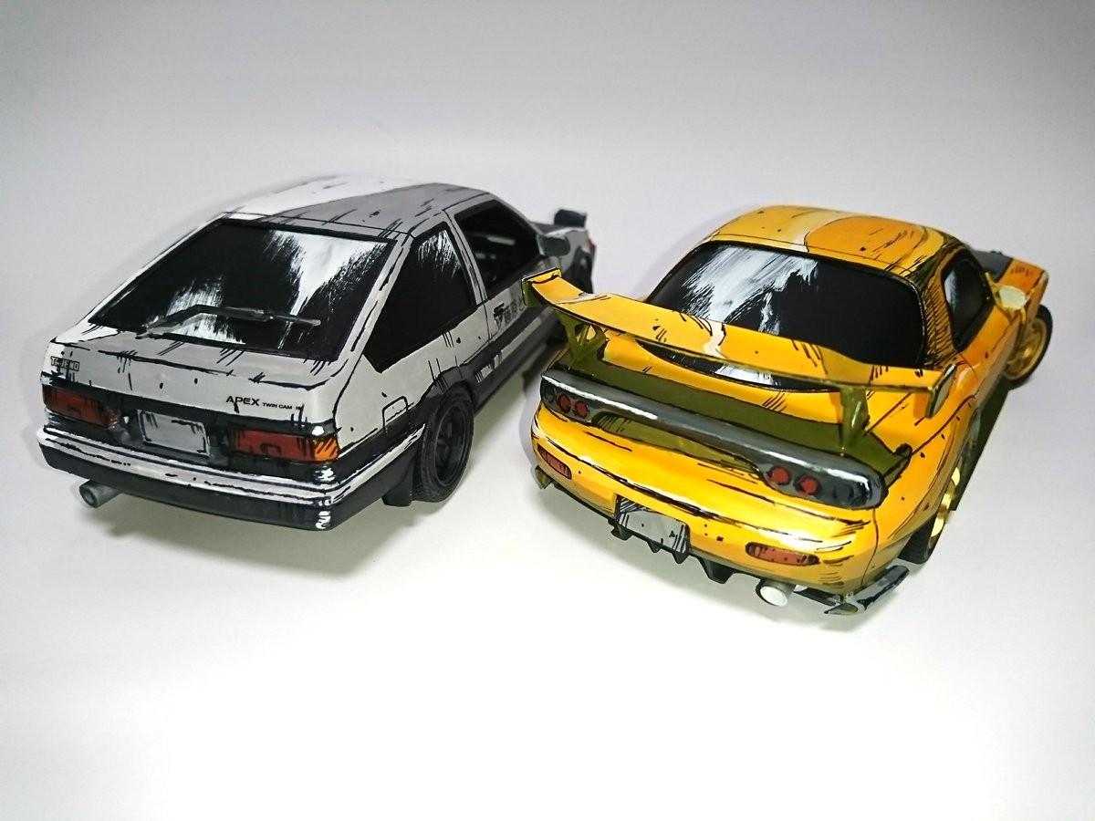 头文字D模型,动漫汽车模型