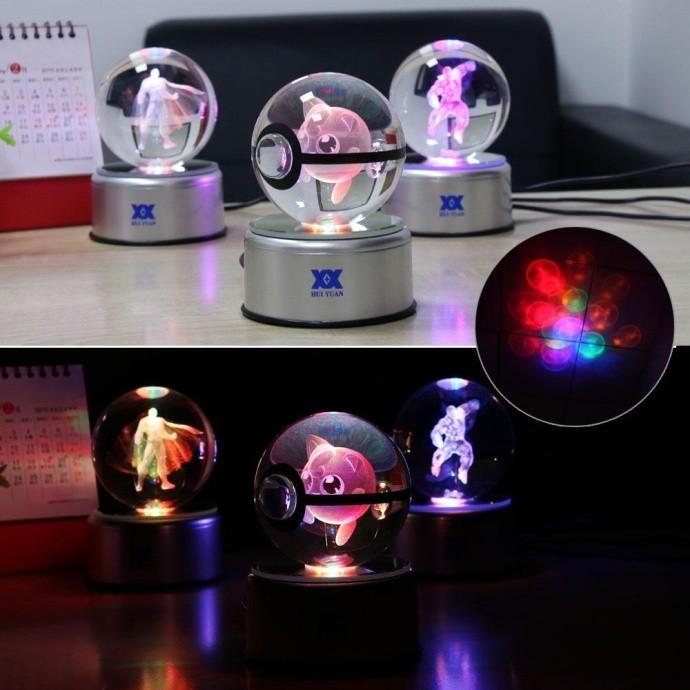 水晶精灵球,精灵球,神奇宝贝球