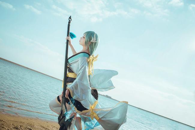 Fate/Grand Order,清姬cos,喵泽_道成寺钟火