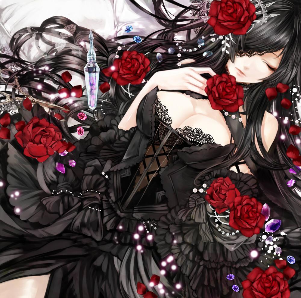 id=30943512,薔薇与少女,动漫女生图片,动漫图片特辑大全