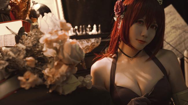 FateGO,斯卡哈礼装,cosplay