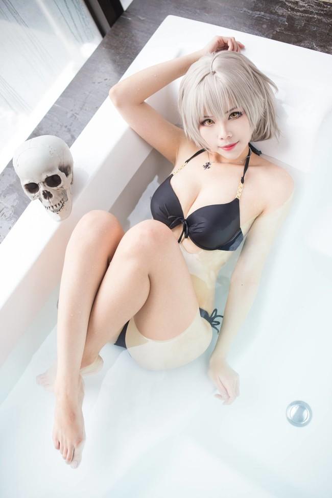黑贞德,黑Saber,cosplay