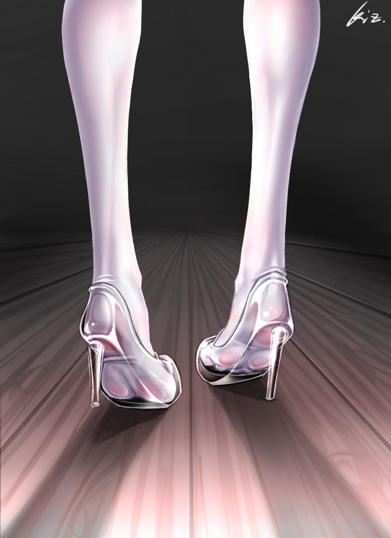 id=56994467,水晶鞋图片,动漫女生图片,动漫水晶高跟鞋