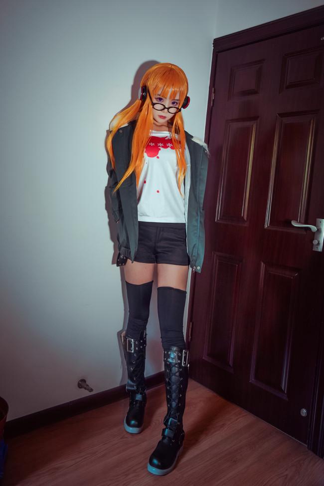 女神异闻录5,佐仓双叶,cosplay