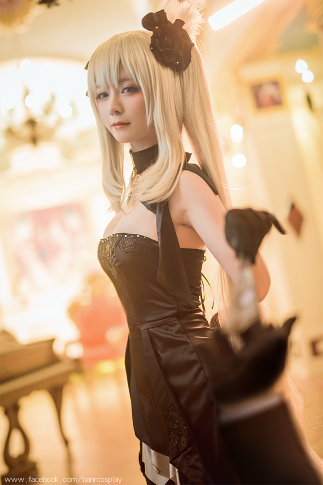 玛丽礼服,浮光溢彩之梦,cosplay