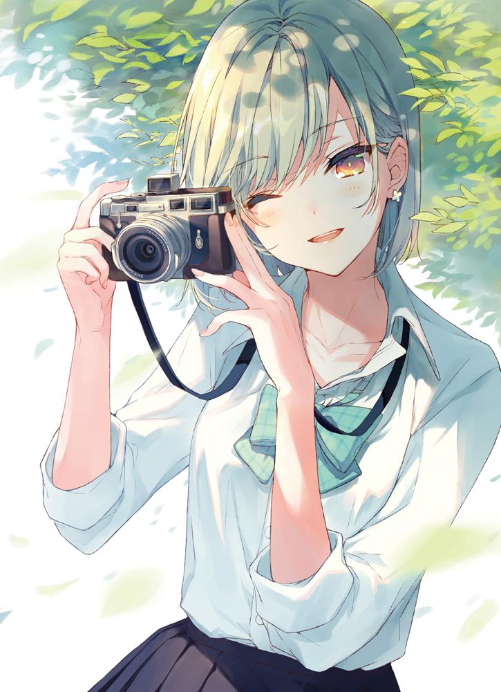 id=64287586,少女相机图片,动漫女生图片,唯美动漫壁纸