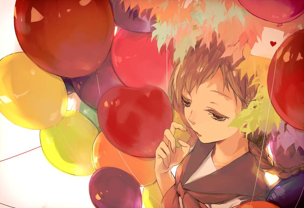 id=36153394,动漫气球图片,动漫少女图片,动漫唯美壁纸