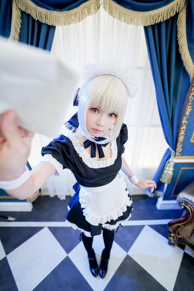 Fate,阿尔托利亚,女仆,cosplay