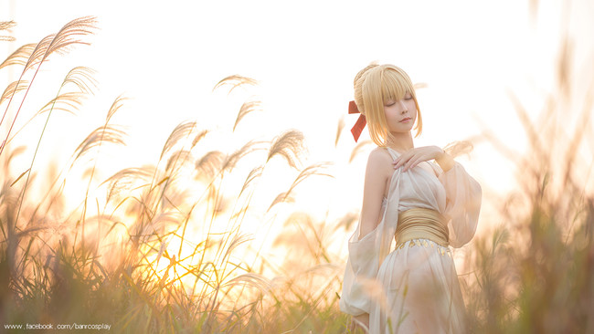 尼禄,FEX薄纱睡裙,cosplay