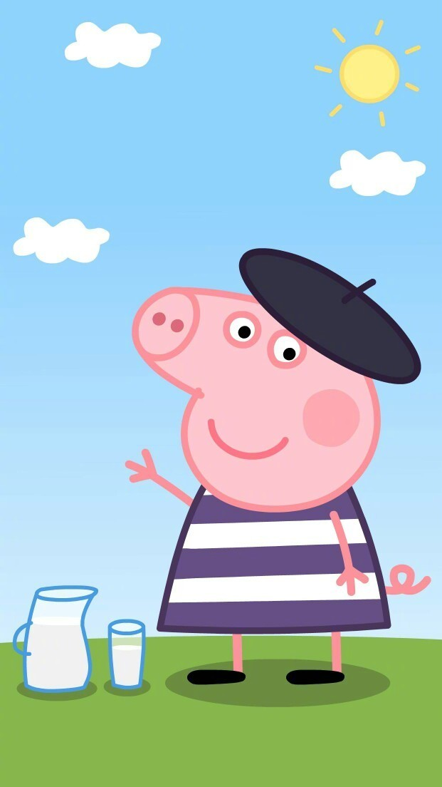 小猪佩奇壁纸,社会人壁纸,动漫壁纸,卡通壁纸