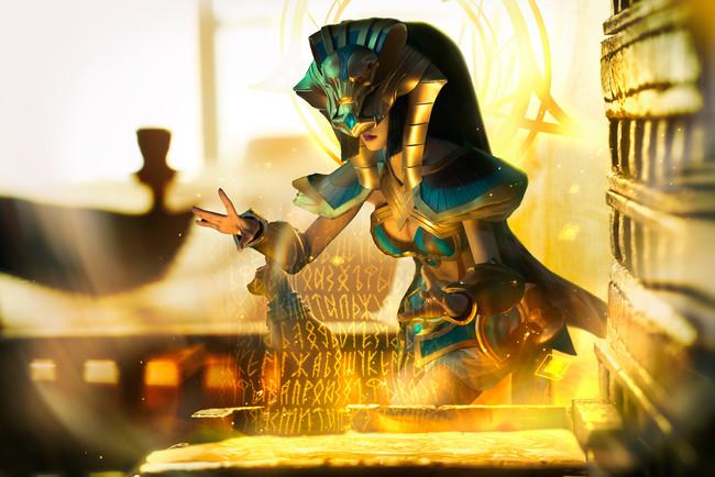 王者荣耀 ,女娲,尼罗河女神,cosplay图片