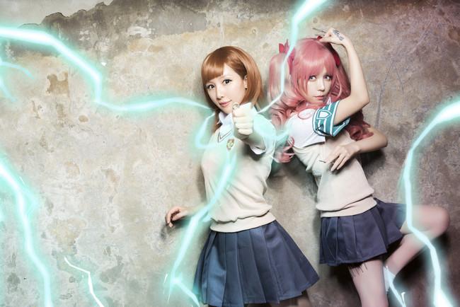 某科学的超电磁炮,御坂美琴,白井黑子,cosplay图片