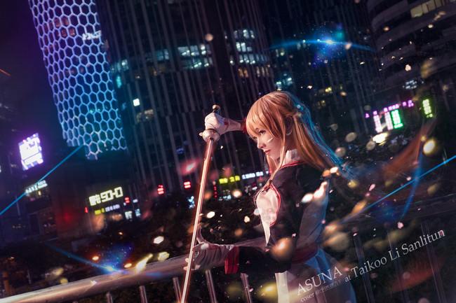 刀剑神域cos,亚丝娜cos,cosplay图片