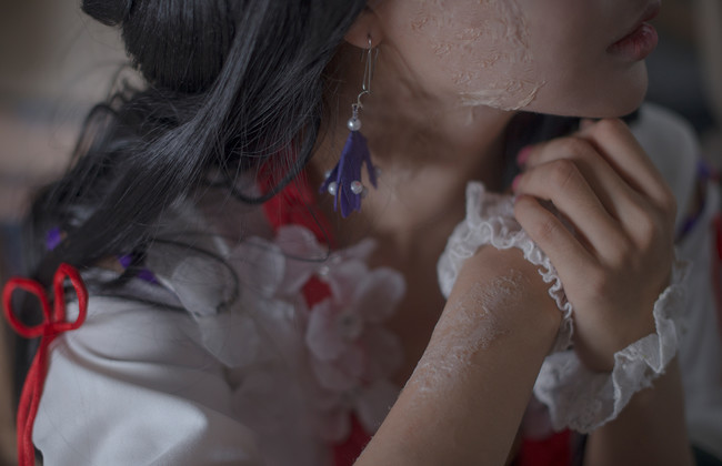 网易手游阴阳师.花鸟卷cos,cosplay图片