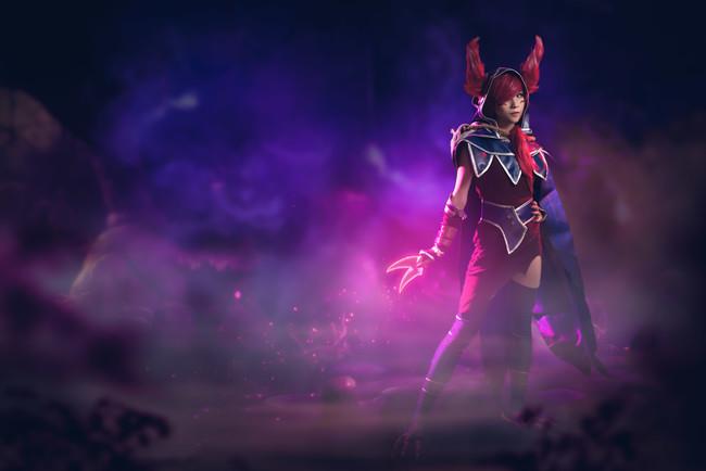 英雄联盟,逆羽 霞,紫渊